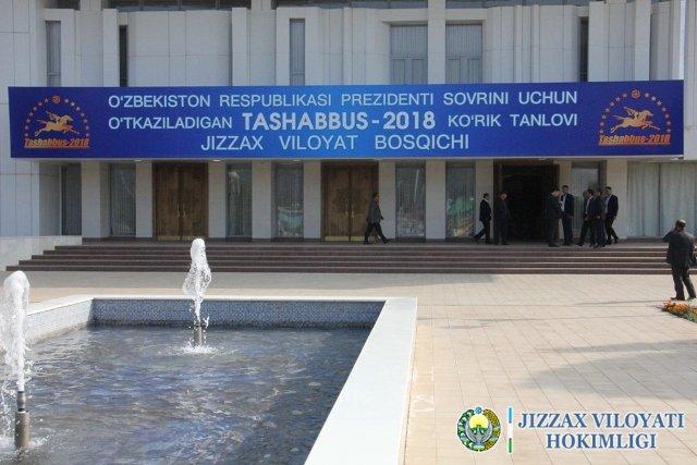 Жиззах: Ташаббус-2018 кўргазмасидан фоторепортаж