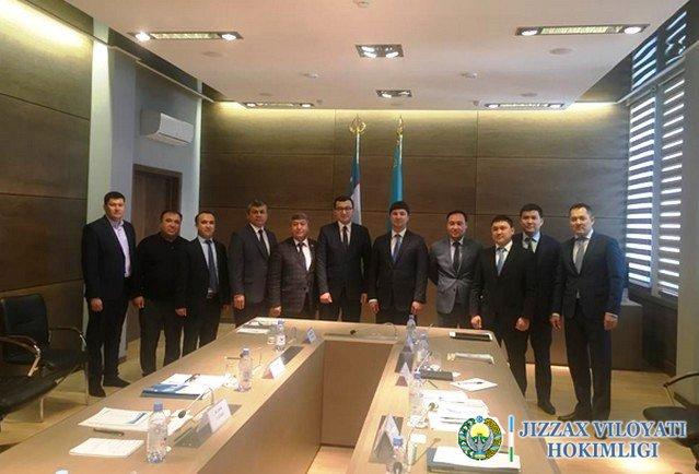 Жиззах вилояти ҳокимлиги делегацияси Қозоғистон Республикасига ташриф буюрди