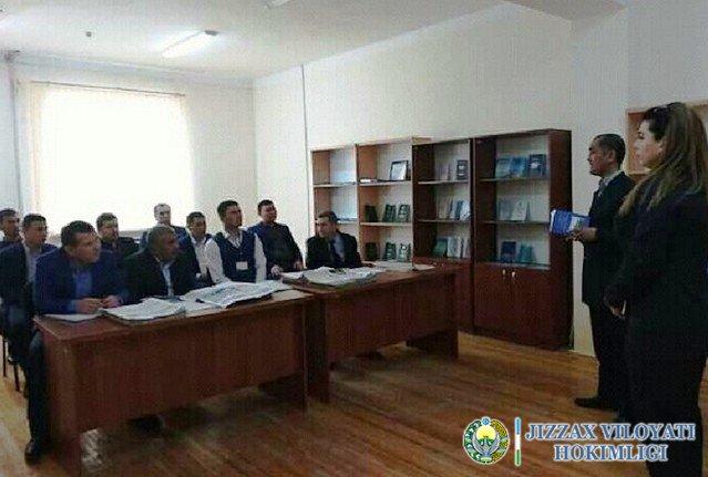 Зомин туман ДСИда Президент Мурожаатномаси бўйича тарғибот тадбири ўтказилди