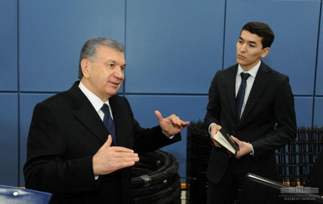 "Президент Шавкат Мирзиёев Жиззахдаги  ""Mega Invest Industrial"" қўшма корхонаси билан танишди"