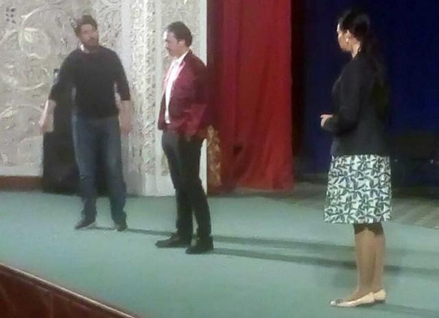 Ўзбекистон давлат драма театри ижодкорлари Жиззах вилоятига ташриф буюрди