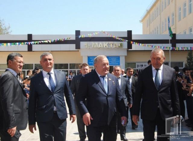 Россия қаҳрамони генерал Владимир Шаманов Жиззахда ўқиган