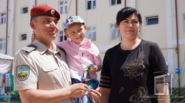 Новые дома – военнослужащим Национальной гвардии