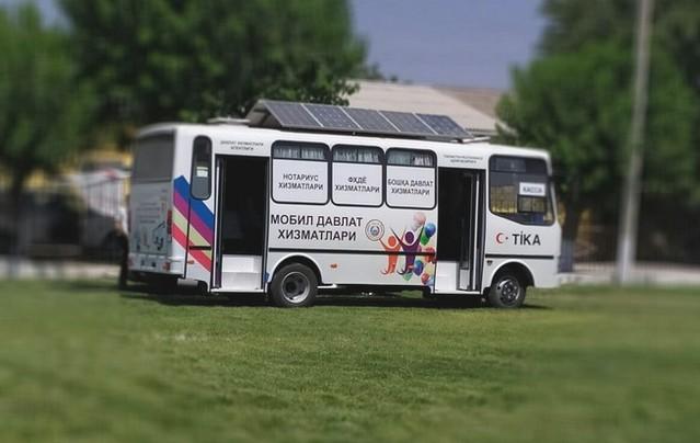 Мобиль автобус Ғаллаоролда