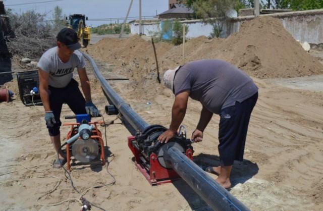 Джизаке улучшается обеспечение питьевой водой