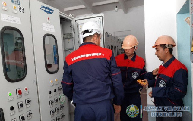 «Жиззах» подстанциясида 200 МВА ли АТ-1 трасформатори ишга туширилди