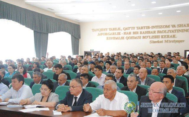 Халқ депутатлари Жиззах вилояти Кенгашининг 46 сессиясининг кун тартибида сайлов бўлди