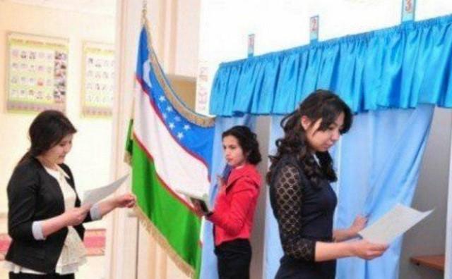 Молодежь Джизака приняла активное участие в выборах