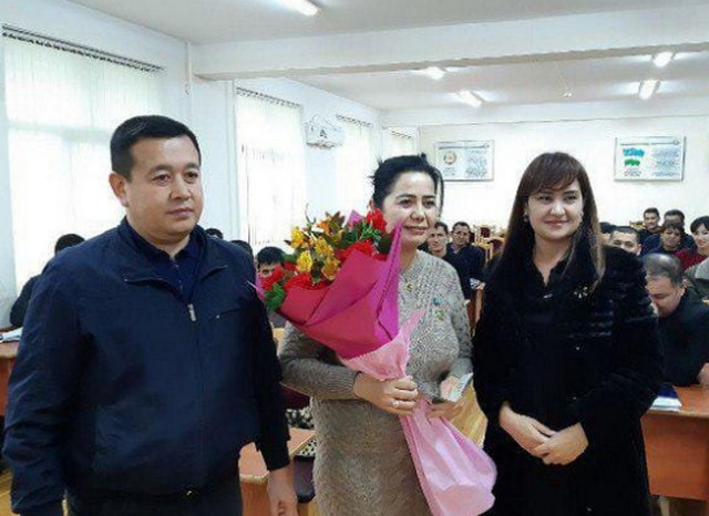 Гульчехре Урдушевой вручили нагрудный знак «Отличник правовой пропаганды»