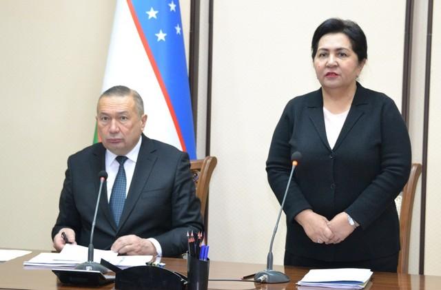 Председатель Сената Олий Мажлиса Танзила Нарбаева провела открытый диалог с депутатами Джизакского областного Кенгаша народных депутатов