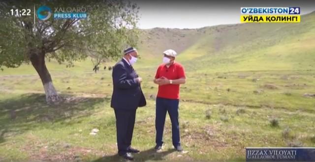 "Халқаро пресс-клубнинг ""Масофада"" кўрсатуви Жиззахда (2-қисм)"