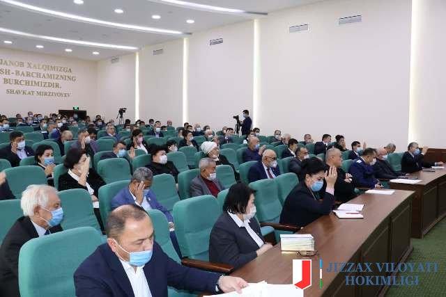 Халқ депутатлари вилоят Кенгашининг ўн тўртинчи сессиясида учта масала кўрилди