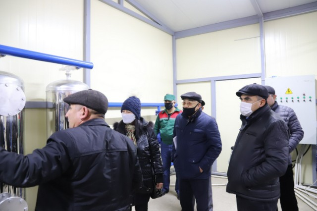 Жиззах вилояти Уй-жой коммунал хизмат кўрсатиш бошқармасида томонидан пресс-тур ташкил этилди