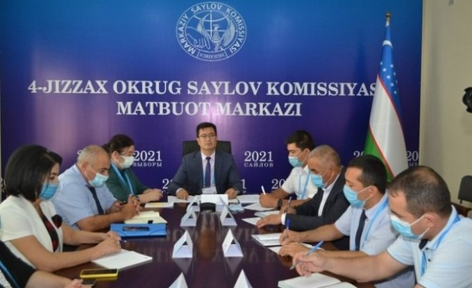 Жиззахликлар Ўзбекистон Республикаси Президенти учун 524 сайлов участкасида овоз беради